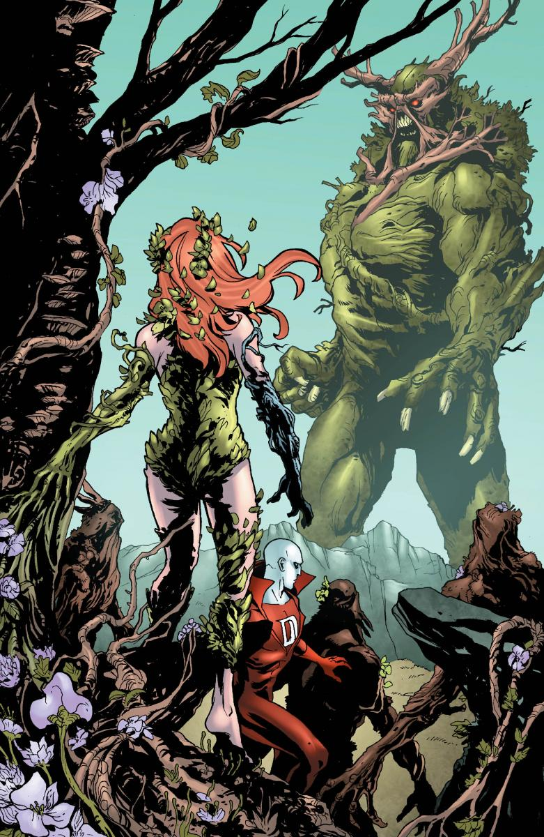 Kevin Durand in DC comics Swamp Thing